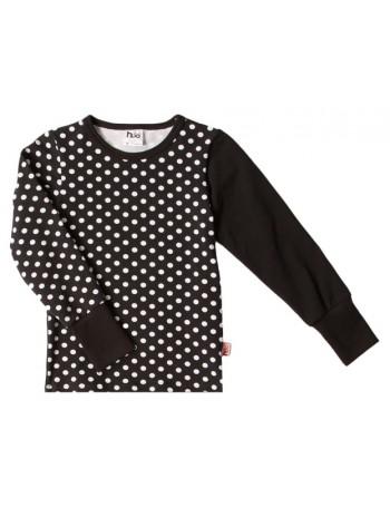 MAINIO-MINERVApitkähihainen paita, musta pallo