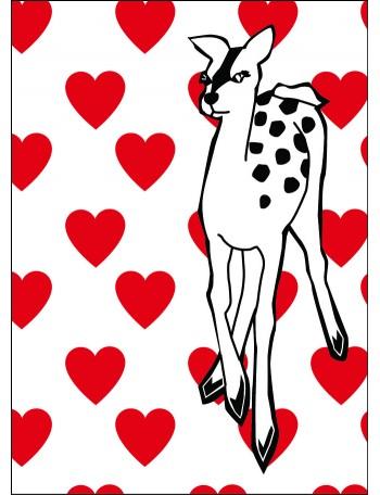 TAULU, bambi sydän