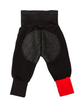 MIKA-MIINA -housut, musta&musta denim