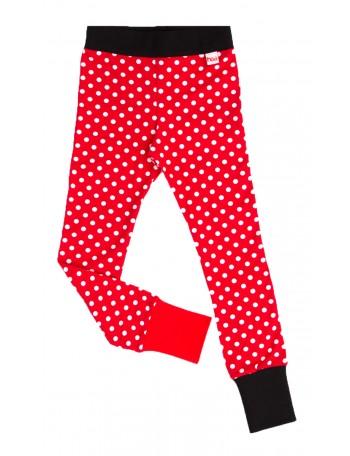 OIVA-OLIVIA trikoohousut, punainen pallo