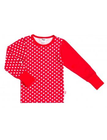 MAINIO-MINERVApitkähihainen paita, punainen pallo