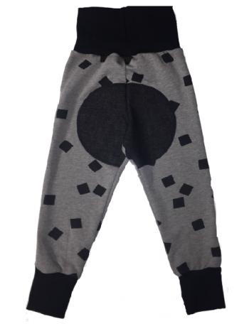 MIKA-MIINA -housut, palkki&musta denim