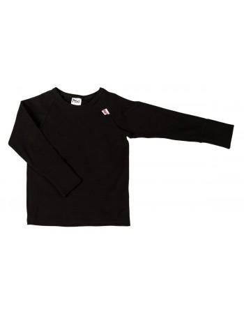 TIMO-TINJApitkähihainen paita, musta