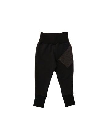 ELLA-ELMERI -housut, musta denim