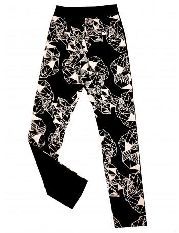OMPUTAR naisten leggings, AMETISTI
