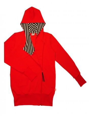 MINNA hoodie, red AW2017-2