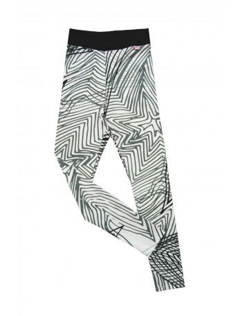 OMPUTAR women's leggings, Ametisti -print