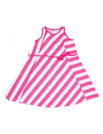 LIINATAR dress, pink stripe