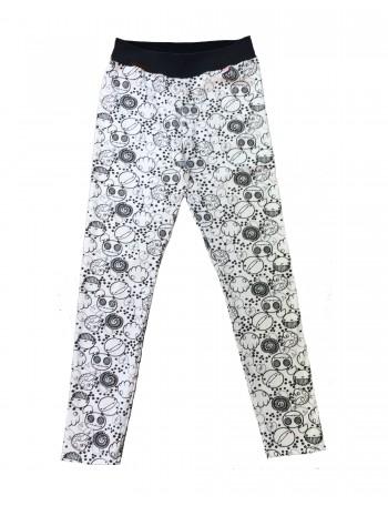 OMPUTAR women's leggings, örkki print