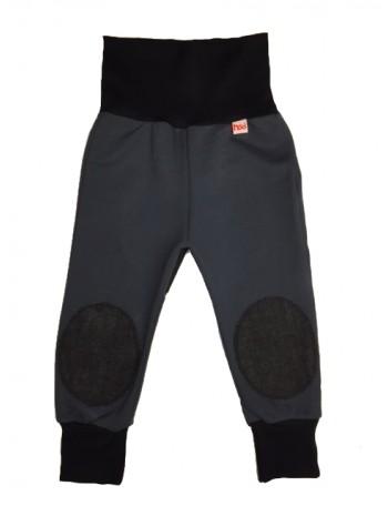 MIKA-MIINA -housut, grafiitti&musta denim